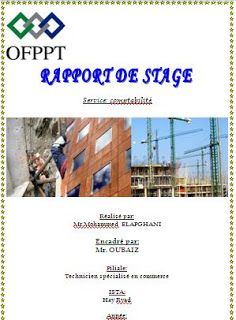 Rapport De Stage Finance Comptabilite Pdf Simo Word Doc Stage