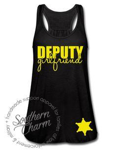Deputy Girlfriend Top - Southern Charm Designs