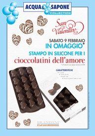 COLLECTION 2013 Omaggio di San Valentino nei negozi delle regioni Liguria-Toscana-Umbria-Campania-Calabria