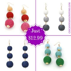 NEW ARRIVALS It's here✈️ Beautiful earrings boho style😍 Available in many colors, shop now👉https://buff.ly/2w59qBI?utm_content=buffer1b57d&utm_medium=social&utm_source=pinterest.com&utm_campaign=buffer #New #Arrivals #Earrings #Boho #Style #Jewelry #Accessories #Chic #Fashion #Love #Colors