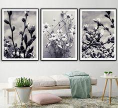 Living Room Canvas Art, Canvas Wall Decor, Decorating With Pictures, Decoration Pictures, Living Room Pictures, Wall Art Pictures, 5 Piece Canvas Art, Flower Landscape, Home Decor Paintings