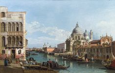 Old Master Paintings - im Kinsky Auktionshaus Italian Paintings, Great Paintings, Santa Maria, Francesco Guardi, Venice Painting, Getty Museum, Grand Canal, Old Master, Kirchen