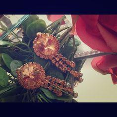 Vintage earrings Clip on Jewelry Earrings