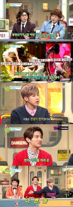 TVXQ talk about the fainting incident with Girl's Day's Hyeri | allkpop.com