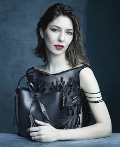 Marc Jacobs Muse and Friend of the House Sofia Coppola in the Louis Vuitton Spring/Summer 2014 Fashion Campaign, shot by Steven Meisel.