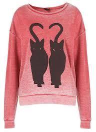 cat sweater.