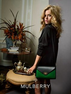 Mulberry Bag SS 2015. #georgiamayjagger #bags #mulberry #campaign