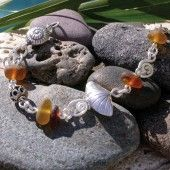 Sea glass jewelry by Lisl Armstrong