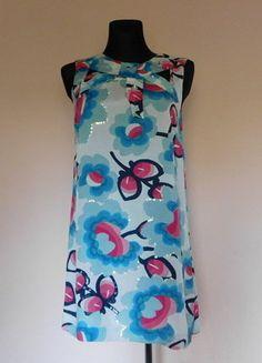 Kup mój przedmiot na #vintedpl http://www.vinted.pl/damska-odziez/krotkie-sukienki/15956923-river-island-sukienka-tunika-cekiny-40-42