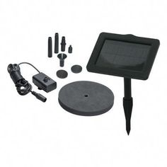 The Smart Solar SunJet 150+ Solar Fountain Kit helps you create a decorative fountain in a pond, bird bath or other container. Powered by solar energy, the kit has 3 different fountain heads that spray water up to 14 in. high. Spray height can vary depending upon the nozzle type and strength of sunlight…