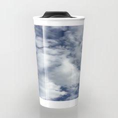 cloud pattern Travel Mug
