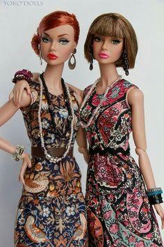 Model: Mood changers Poppy red head, IT Airways Poppy I think Airways will be versatile. Barbie Hair, Barbie Dress, Barbie Clothes, Beautiful Barbie Dolls, Vintage Barbie Dolls, Fashion Royalty Dolls, Fashion Dolls, Poppy Doll, Poppy Parker