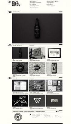 Independent Design Studio - Manifiesto Futura | #webdesign #it #web #design #layout #userinterface #website #webdesign < repinned by www.BlickeDeeler.de | Take a look at www.WebsiteDesign-Hamburg.de