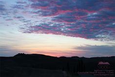 #Sunset #Dusk #Tuscany #Italy