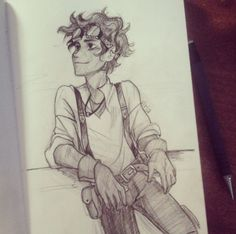 LEO VALDEZ!!! By Viria. This is amazing and exactly how I pictured Leo