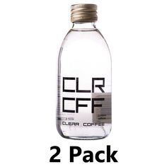 The first clear coffee drink from Arabica coffee beans infused with pure water.