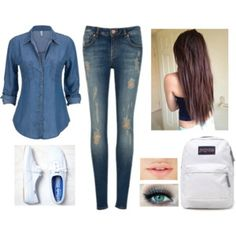 """""""student"""" by karenvanessa1d on Polyvore"""