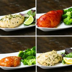 Freezer Pack-Marinated Chicken 4 Ways | Freezer Pack-Marinated Chicken 4 Ways