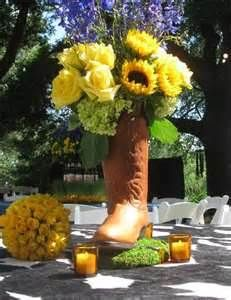 all yellow wedding flowers