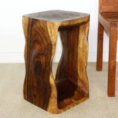 Strata Furniture 20 in Twist End Table