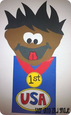 Step into 2nd Grade Olympian Craft