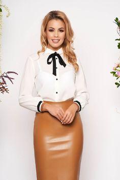 Camasi Dama - Colectie Noua in fiecare Vineri - StarShinerS Waist Skirt, High Waisted Skirt, Casual, Skirts, Shopping, Fashion, Moda, High Waist Skirt, Skirt