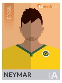 ilustracion futbolista neymar