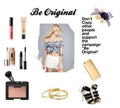 """""""Be Original"""" by kool-aid-babe ❤ liked on Polyvore featuring Wet Seal, LORAC, MAC Cosmetics, Clinique, Lord & Berry, Gucci, NARS Cosmetics, Goldgenie, Gorjana and beoriginal"""