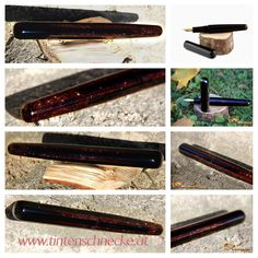 Fountain pen, ink, urushi, lacquer, handmade, Füllfeder, Tinte, Lack, selbstgemacht Straightener, Beauty, Dyes, Homemade, Beleza