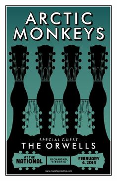 GigPosters.com - Arctic Monkeys - Orwells, The. #musicart #concerts http://www.pinterest.com/TheHitman14/music-poster-art-%2B/
