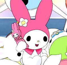 ⋆ฺ。*:・ anime : onegai my melody my melo lq icon sanrio aesthetic messy Vintage Cartoon, Cute Cartoon, Pink Aesthetic, Aesthetic Anime, Hello Kitty My Melody, Kawaii Illustration, My Little Monster, Hello Kitty Wallpaper, Cartoon Icons