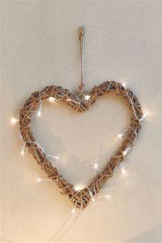 Twisted Wood Heart