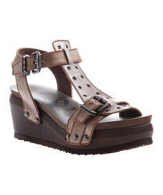 dc2d3f94b4d New Bronze Caravan Leather Sandal  zulilyfinds Leather Sandals