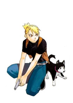 Fullmetal Alchemist - Riza Hawkeye, my fav character in fma and fmab and one of my favorite female characters in anime