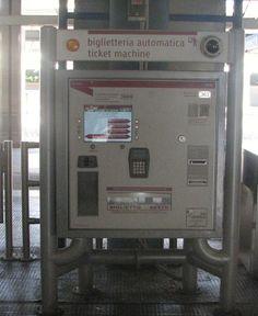 Rome- How to buy metro/bus ticket