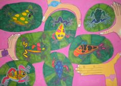 Just one of the fabulous images created by children from more than 27 countries on display in #JerseyCity this April for #EarthDay and #SaveTheFrogsDay http://igg.me/at/green-dream/