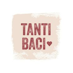 Tanti Baci by Wondercloud Design for Minted