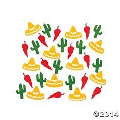 Fiesta Confetti - Oriental Trading