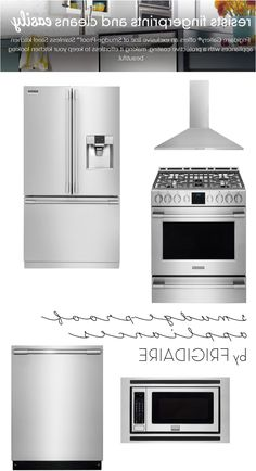 Choosing Kitchen Appliances Jenna Burger From Smudge Proof Stainless Steel  Kitchen Appliances