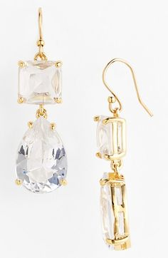 kate spade new york 'vegas jewels' drop earrings available at #Nordstrom