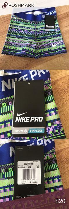NWT Nike Pro Dri fit shorts✨ NWT Nike Pro Dri fit shorts✨Dri fit competition base layer trainers! Nike Shorts