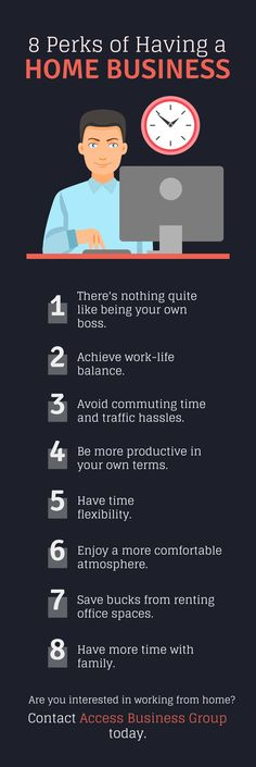 8 Perks of Having a Home Business Work Life Balance, Be Your Own Boss, Have Time, Flexibility, Group, Business, Back Walkover, Store, Business Illustration