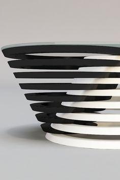 A coffee table concept | Design Svilen Gamolov