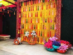 Desi Wedding Decor, Wedding Stage Decorations, Backdrop Decorations, Diwali Decorations, Flower Decorations, Backdrop Wedding, Birthday Decorations, Wedding Ideas, Engagement Stage Decoration