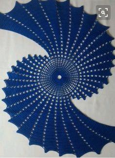 fractal crochet centerpiece doily makes a unique statement - PIPicStats Crochet Table Runner Pattern, Crochet Doily Patterns, Crochet Tablecloth, Crochet Art, Thread Crochet, Irish Crochet, Crochet Motif, Crochet Doilies, Crochet Flowers