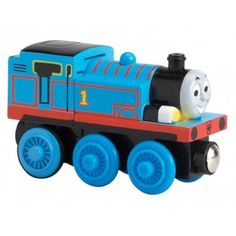 "Thomas & Friends Wooden Talking Railway Engine - Thomas - Learning Curve - Toys ""R"" Us Thomas Engine, Thomas Toys, Train Light, Wooden Train, Thomas The Tank, Thomas And Friends, Toys R Us, Holiday Lights, Classic Toys"