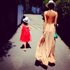 Mother & daughter vacation SWag!!  so adorable!!