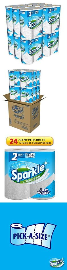 Paper Towels 179203 Sparkle 24 Giant Plus Rolls Pick A