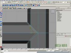 Fresh Maya Video Tutorial: Combine and Smooth two equal cylinders - YouTube