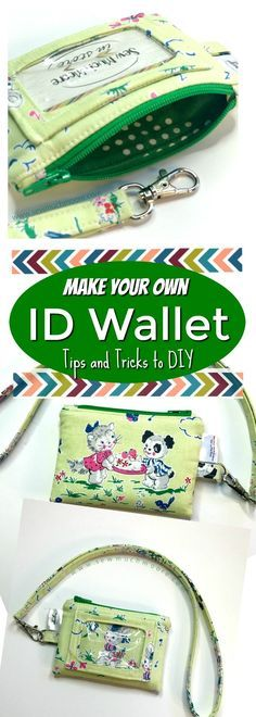 Make this ID wallet today! Check out the tips and tricks along with all the pattern info right here. If you are looking for the necessary hardware - I provide options for this as well! Love this fabric by Elea Lutz called Strawberry Biscuit!